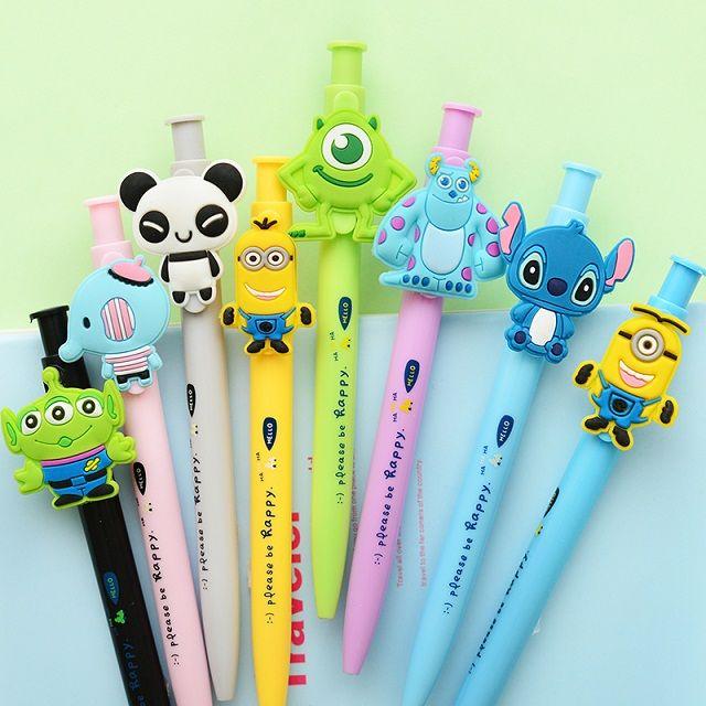 Material escolar papelaria coréia papelaria clássico caneta unisex imprensa 0.5 mm caneta esferográfica caneta gel em Canetas gel de Escritório & material escolar no AliExpress.com | Alibaba Group