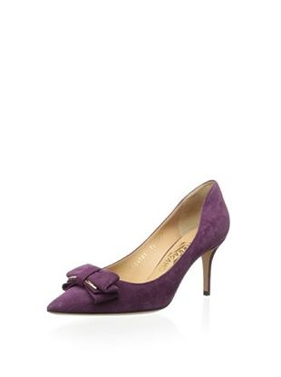 26% OFF Salvatore Ferragamo Women's Runa 70 Pump (Purple)