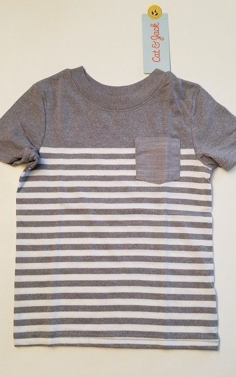Cat /& Jack Toddler Boys/' Stripe Pull-On Shorts Size 5T NWT
