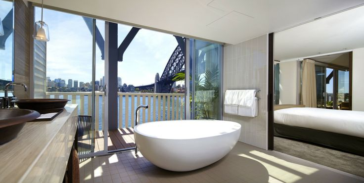 Bath envy at the Sebel Pier One's new suites #bathroom #hotel