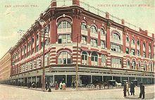Joske's of Texas beside the Alamo. The greatest store in the greatest state is Joske's!