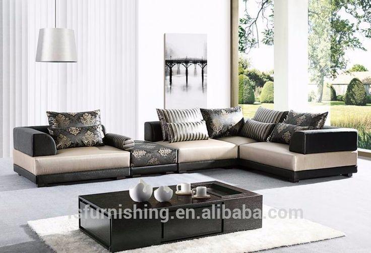 Md705 moderne goede kwaliteit fluwelen stof arabische grote u-vorm salon woonkamer sectionele zachte stof bankstel sofa groot formaat-afbeelding-woonkamer sofa-product-ID:60223440130-dutch.alibaba.com