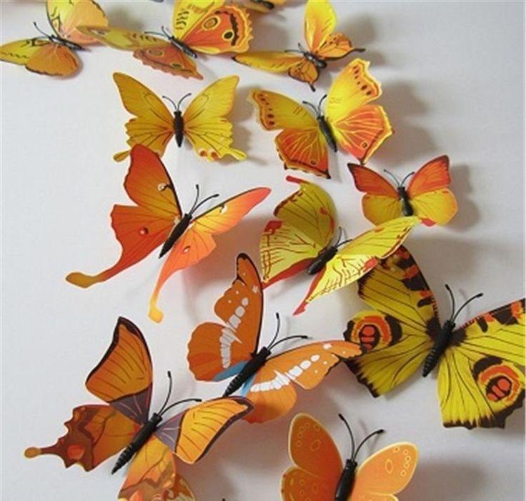 Хотите создать придать уникальную атмосферу в вашей комнате или офисе, создать атмосферу праздника? Вам помогут - эти уникальные бабочки.