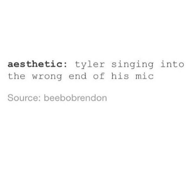 Still don't know what 'aesthetic' means...tbh. But same