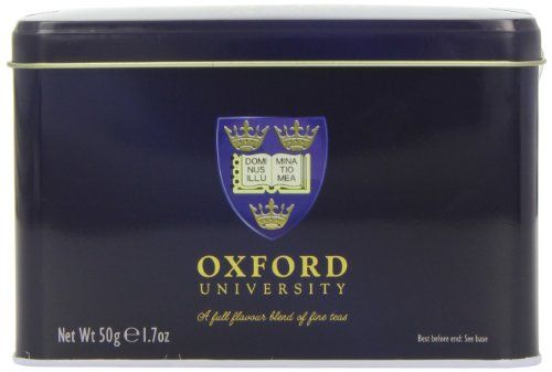 English Tea – Traditional English Breakfast Teabags, Oxford University Tin