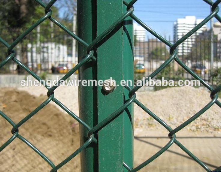 Customize Rot Proof Weight Per Square Meter For Gi Chain Link Fencing
