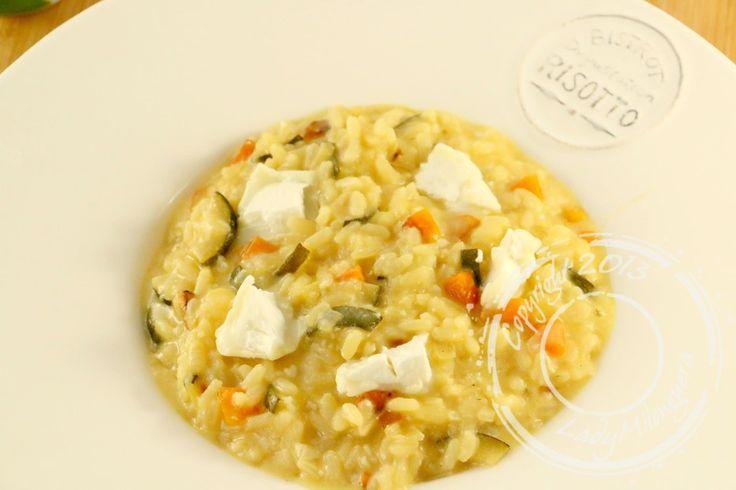 Risotto-carottes-courgettes-chevre (1) Remplacer riz par riz de konjac