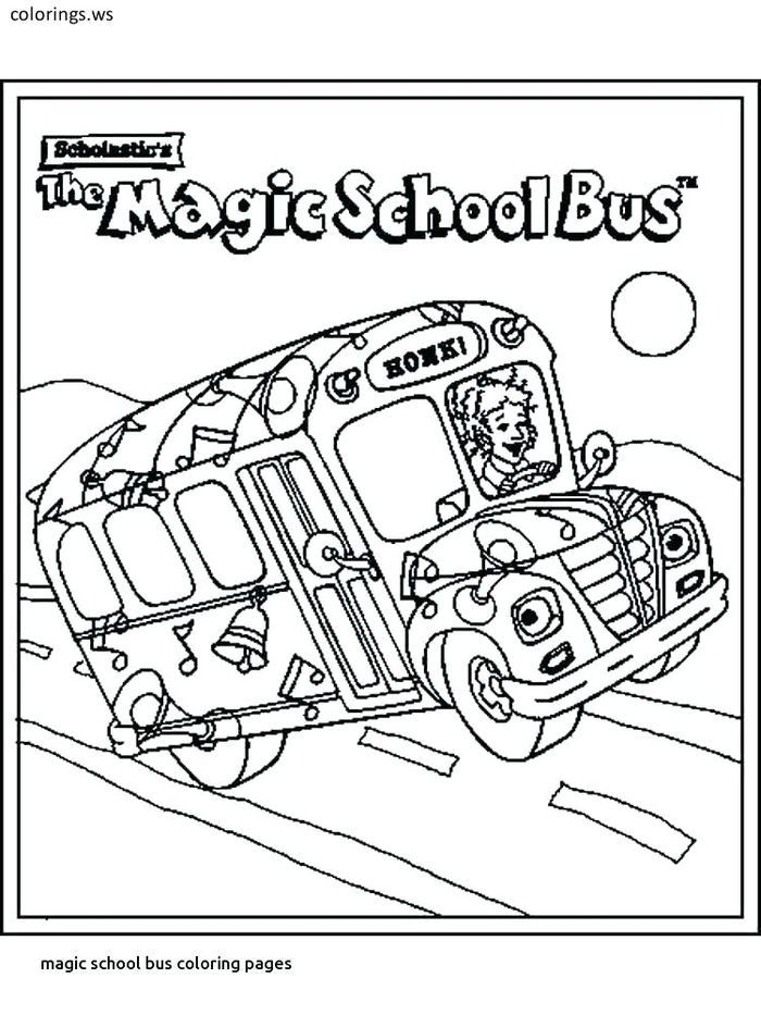 Bus Coloring Pages Collection With Images Magic School Bus