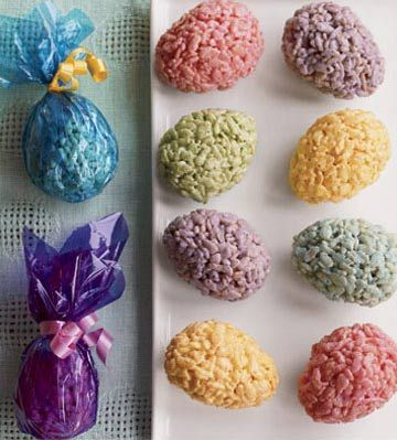 kindergarten next year for my daughter...gotta make sure shes the coolest in the class...easter egg cereal treats look fun!!