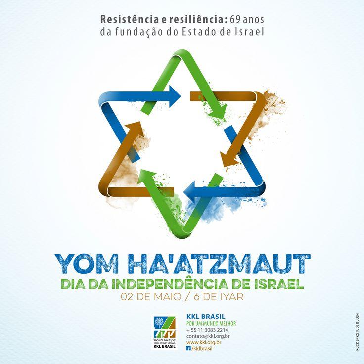 Esta data marca o Dia da Independência de Israel e nos faz retomar sobre a resiliência e a resistência de nosso povo para estabelecer-se como tal.
