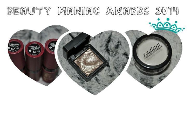 Τα Beauty Maniac Awards είναι γεγονός! Και μάλλον, το τελευταίο μου post ομορφιάς για το 2014...Ακόμα δεν κάνατε κλικ για να τα δείτε;  http://www.beautymaniac.gr/2014/12/2014_20.html
