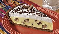 Five Minute Candy Bar Pie. Very easy and quick!! Delicious!