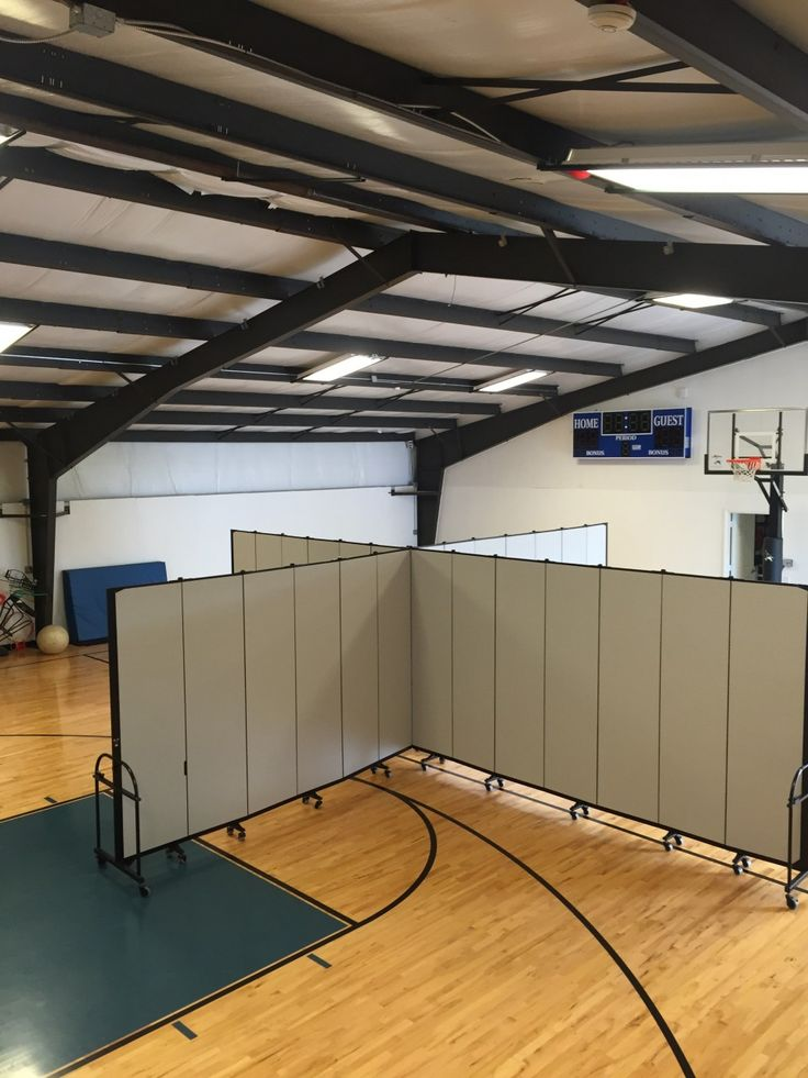 The Best Way To Divide A Large Room | Screenflex Portable Partitions