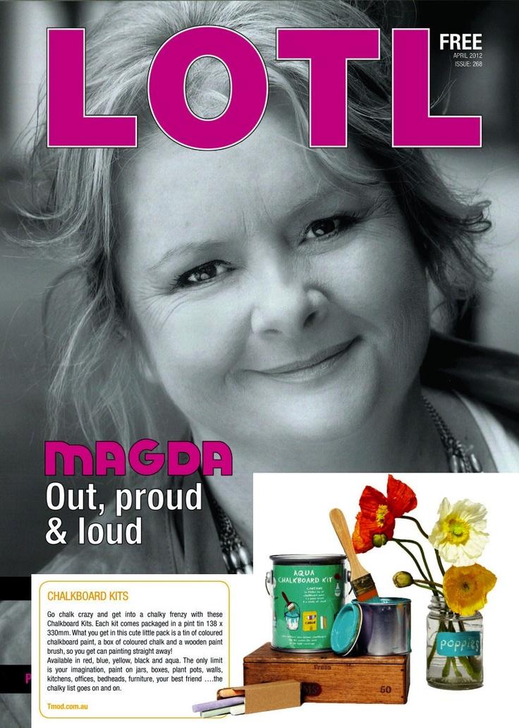 Chalkboard Paint Kits, Lesbians On The Loose April 2012