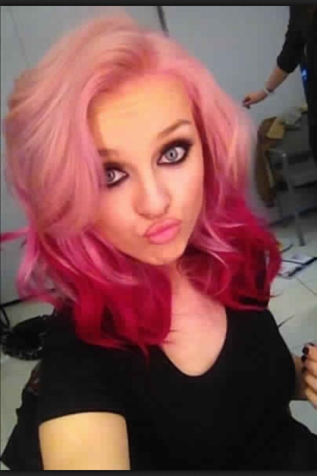 Perrie's new hair is so pretty!