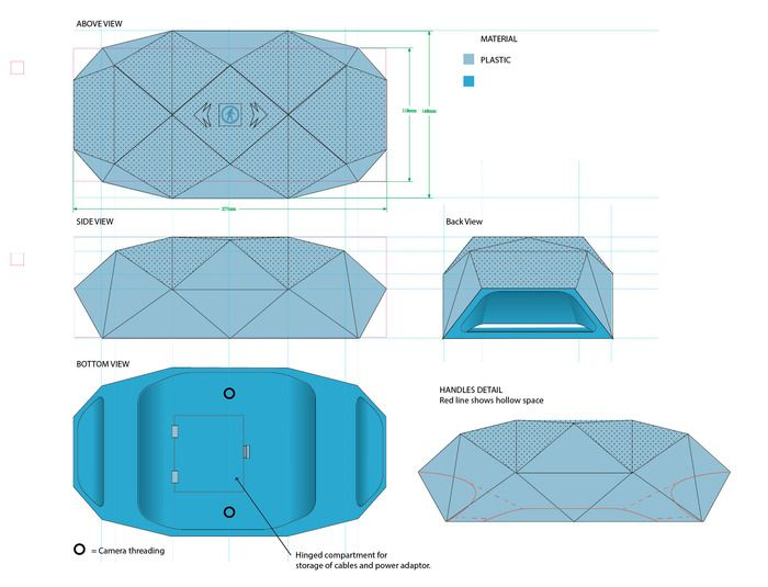 The BIG Turtle Shell®: Rugged, Wireless BoomBox & Power Bank by Outdoor Tech® Design Lab — Kickstarter