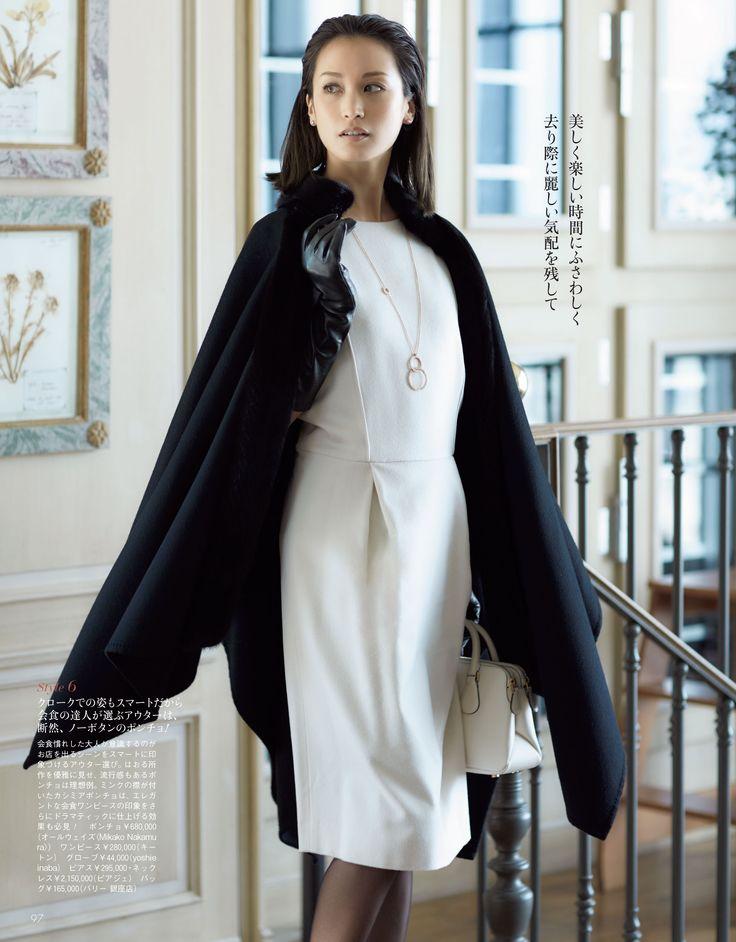 #Precious_16\02_093#新年会に食事会、できる女は「会食エレガンス」の達人です - Woman Insight | 雑誌の枠を超えたモデル・ファッション情報発信サイト