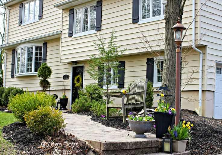 Adding Curb Appeal With New Shutters Board And Batten