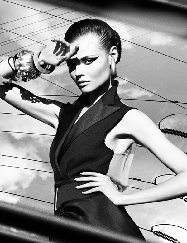 Magdalena Frackowiak by Greg Kadel for Numéro #111