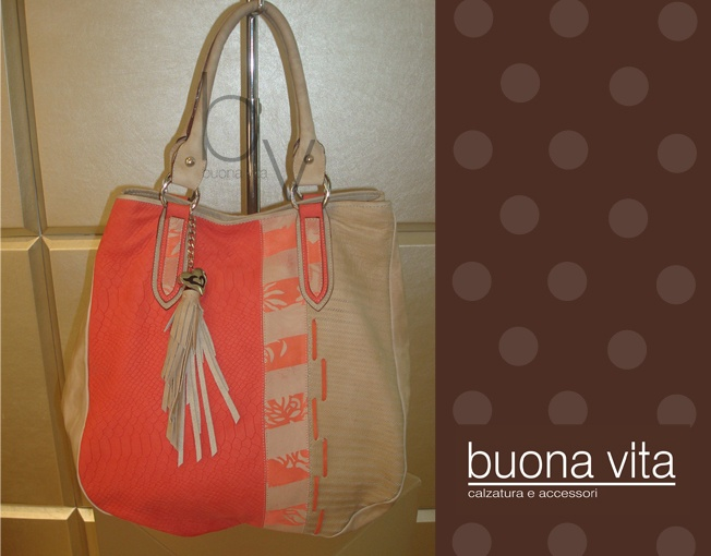 BOLSO CORAL x BEIGE