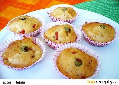 Pizza Muffiny recept - TopRecepty.cz
