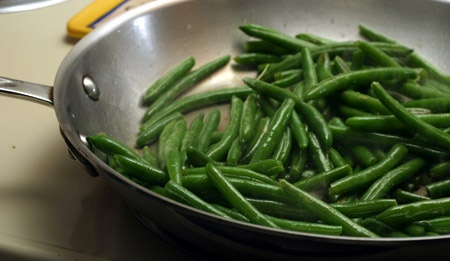 I just made these tonight!  I'm not a big fan of frozen green beans but this recipe made them very tasty!