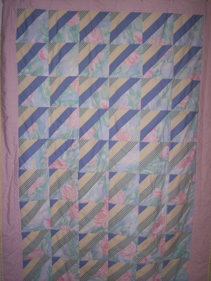 One of the first quilts I made.