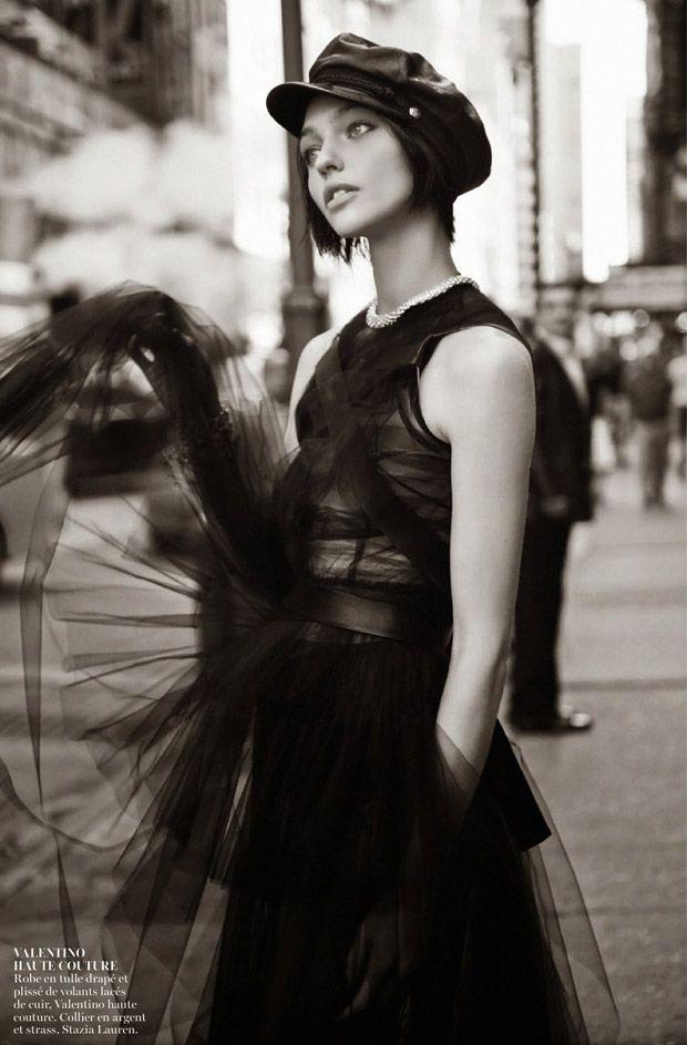 Haute Couture - Sasha Pivovarova by Glen Luchford for Vogue Paris