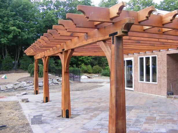Custom Timber Framed Structures Outdoor Living Pergolas