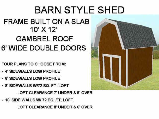 sheds the do it yourself guide for backyard builders