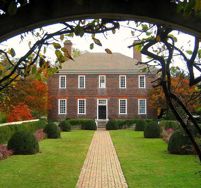 Exterior: 134 Best 18th Century American Homes