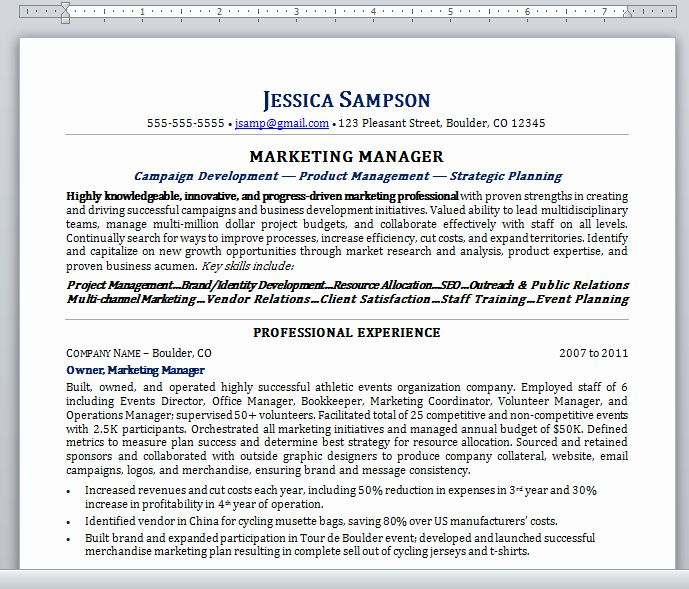 Plain Text Resume Example New Guide To Plain Text Resumes Resume Talk In 2020 Resume Examples Resume Template Good Resume Examples