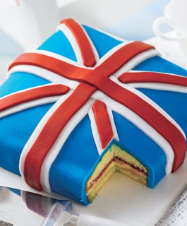Yummy family recipes: Union Jack Cake