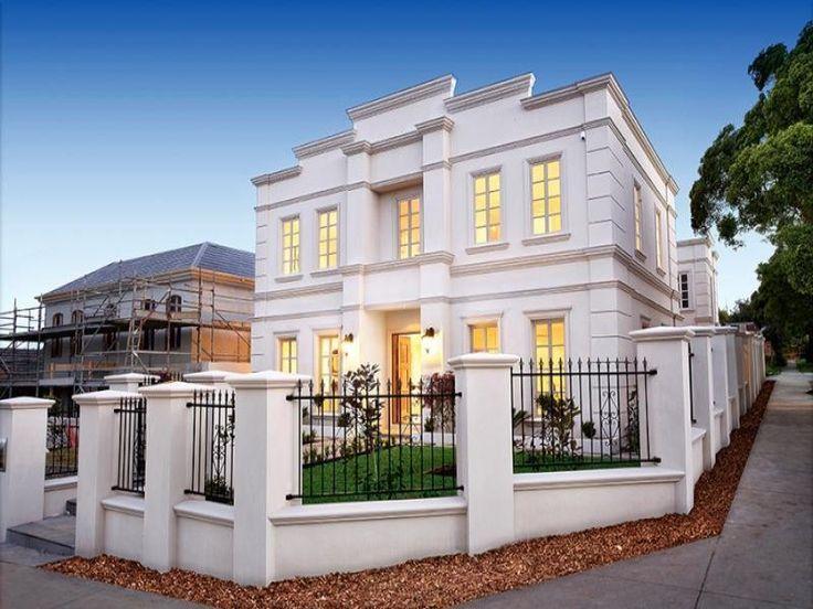 Best 25 modern georgian ideas on pinterest georgian for Classic house facades