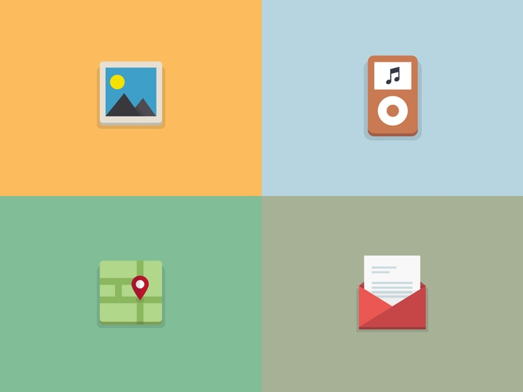 Flat Icons / Flat Design / Icons Design / Icons / Pictograms / Applove / Flat Icon #ui #icons