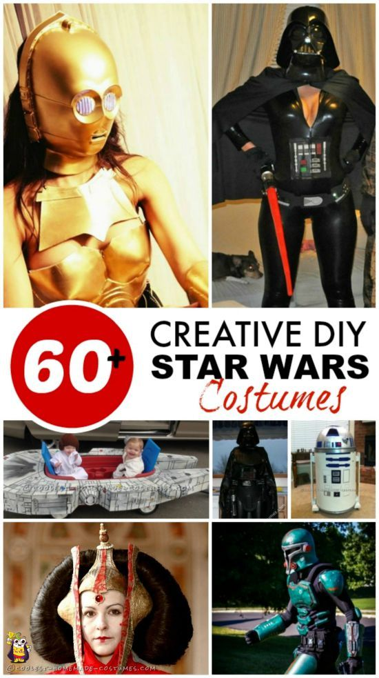 60+ Coolest Homemade  Star Wars Costumes