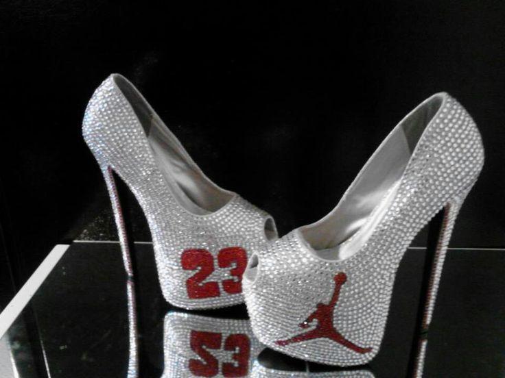 Jordan Peep Toe High Heels