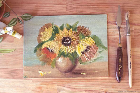 Цветочная композиция / Flower composition
