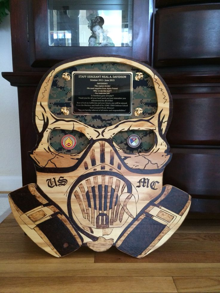 CBRN Plaque Made By #EmilioLuna. This Was Badass