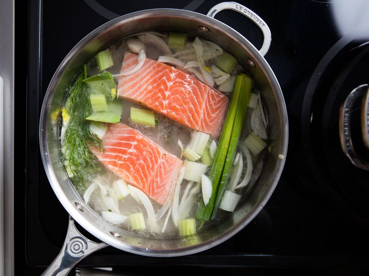 When you want a gently cooked piece of salmon, is it better to steam it or poach it? Turns out there's a third way...the cold-start poach. Here's how to do it.