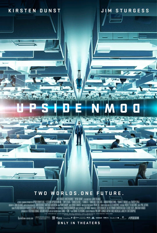 """Movie Trailer for """"Upside Down"""" - a sci-fi love story starring Kirsten Dunst and Jim Sturgess. I am very intrigued by this film!"""