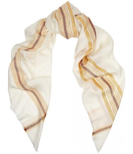 Gucci Almaric silk & wool jacquard scarf