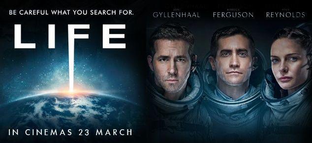 Daniel Espinosa, Jake Gyllenhaal, Rebecca Ferguson, Ryan Reynolds, Life (2017), CINE ΣΕΡΡΕΣ,