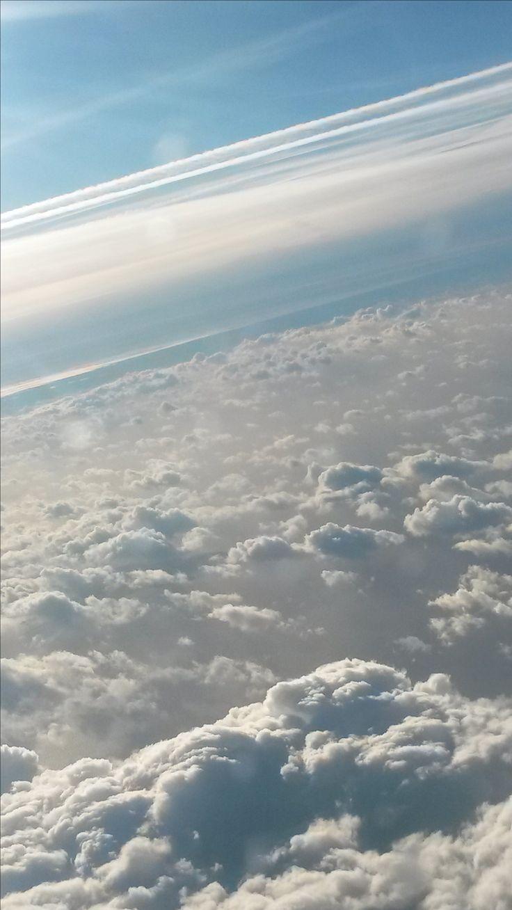 wysoko nad chmurami spotkanie ze słońcem  :)
