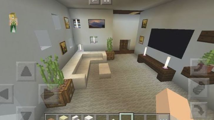 Modern House Play Room Minecraft Interior Design Architecture Houses In 2020 Minecraft Interior Design Minecraft Room Minecraft Kitchen Ideas
