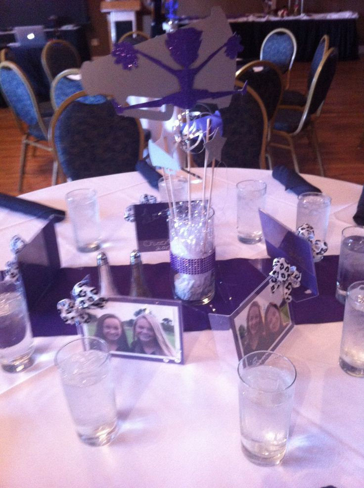 Cheap banquet centerpiece ideas wedding ideas for Cheerleading decorations
