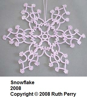 Snowflake 2008  Copyright © 2008 Ruth Perry