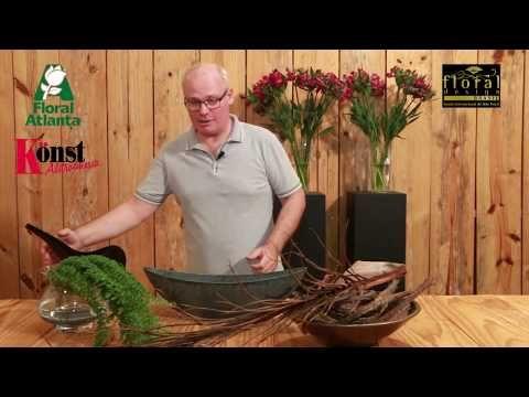 Curso de arte floral - aula 24 - YouTube