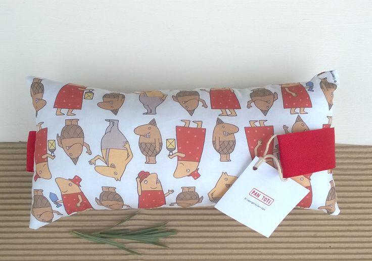Poduszka połówka Pan Toti z uszkami - Pan-Toti-Kolekcja - Poduszki dla dzieci