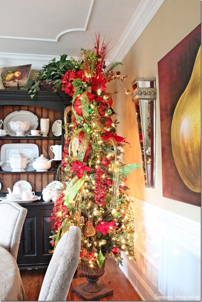 Dining Room Tree Christmas Pinterest